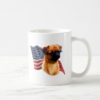 Brussels Griffon Flag Coffee Mug
