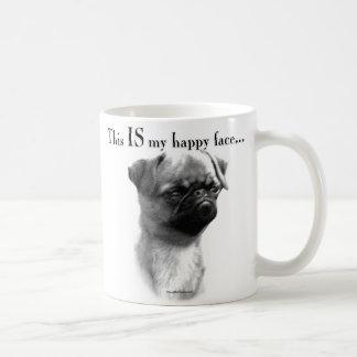 Brussels Griffon Happy Face Coffee Mug