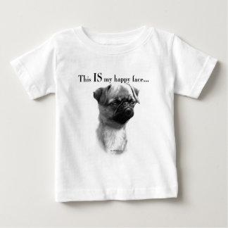 Brussels Griffon Happy Face Infant T-shirt