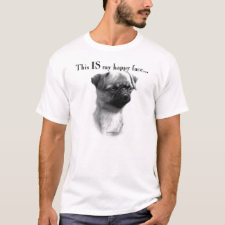 Brussels Griffon Happy Face T-Shirt