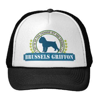 Brussels Griffon Mesh Hat
