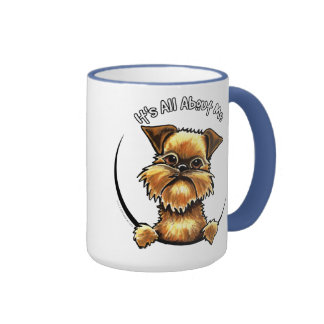 Brussels Griffon Its All About Me Ringer Mug