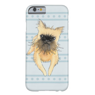 Brussels Griffon Lying Down Watercolour Barely There iPhone 6 Case
