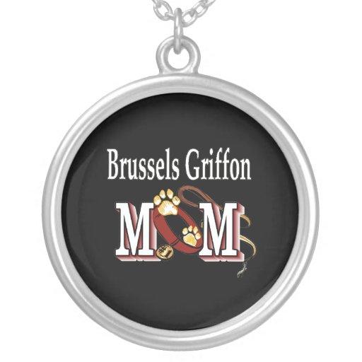 Brussels Griffon Mom Custom Necklace