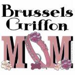 Brussels Griffon MOM Cut Out