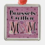 Brussels Griffon MOM Ornaments