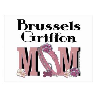Brussels Griffon MOM Postcard