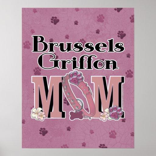 Brussels Griffon MOM Print