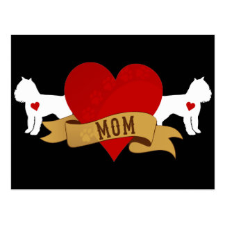Brussels Griffon Mom [Tattoo style] Postcard