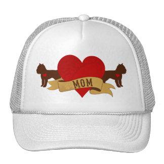 Brussels Griffon Mom [Tattoo style] Trucker Hat