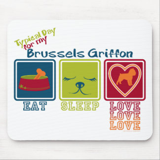 Brussels Griffon Mouse Pad