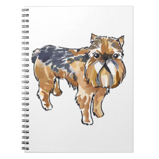 BRUSSELS GRIFFON NOTE BOOK