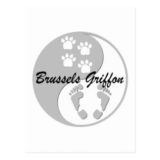 Brussels Griffon Postcard