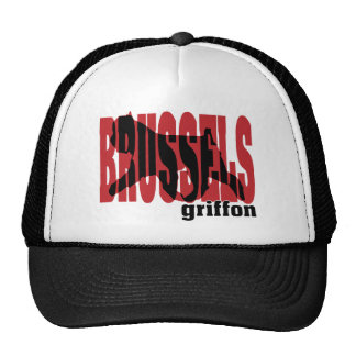 Brussels Griffon silhouette Trucker Hat