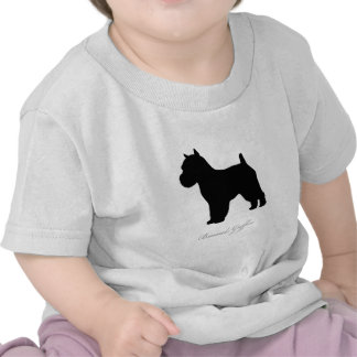 Brussels Griffon silhouette Tee Shirts