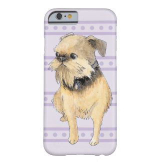 Brussels Griffon Sitting Watercolour Barely There iPhone 6 Case