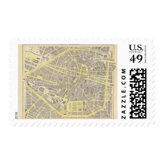 Brussels Postage Stamp