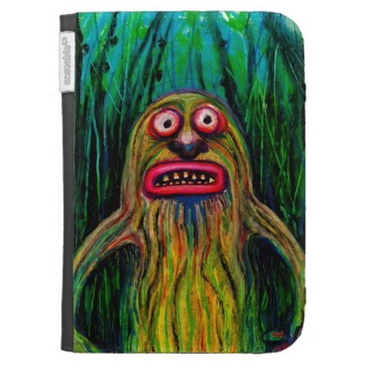 Brussels Sprout Monster Kindle Case