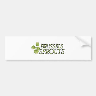 Brussels Sprouts Bumper Sticker