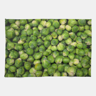 Brussels sprouts towels