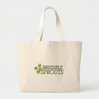 Brussels Sprouts Large Tote Bag