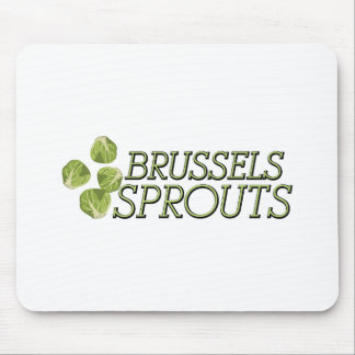 Brussels Sprouts Mouse Pad