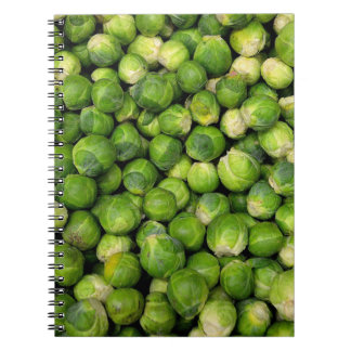 Brussels sprouts note books
