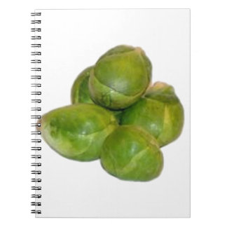 Brussels Sprouts Notebooks
