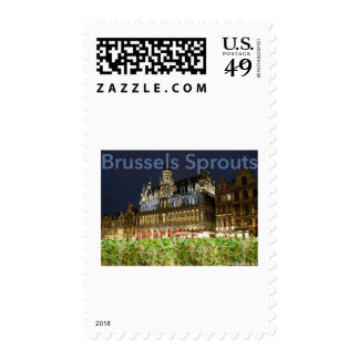 brussels sprouts postage stamp