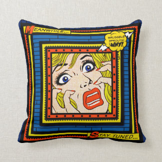 Brussels Sprouts! WHY! Throw Pillow