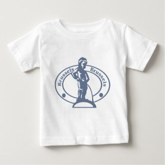 Brussels Stamp Baby T-Shirt