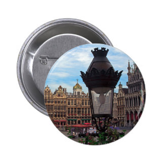 Brussels - The Grand Place Button