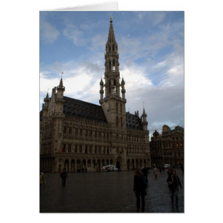 Brussels Town Hall Card