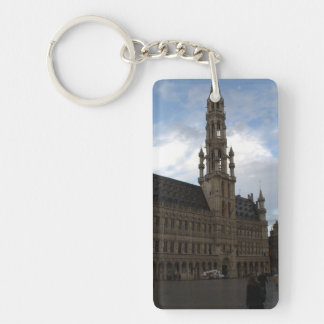 Brussels Town Hall Keychain