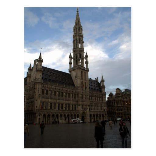 Brussels Town Hall Post Cards