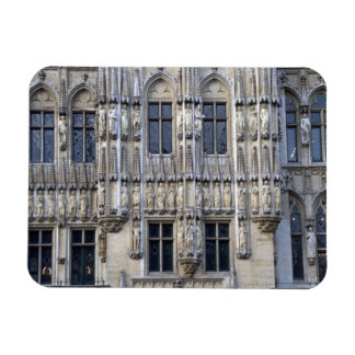 Brussels Town Hall Rectangular Photo Magnet