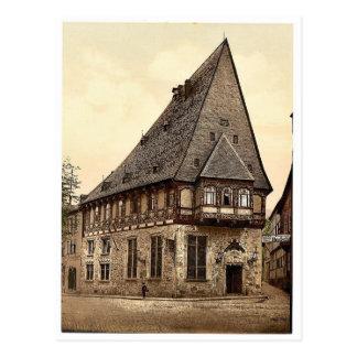 Brusttuch, Goslar, Hartz, Alemania Photochrom raro Postales