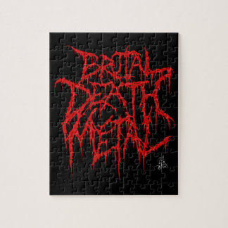 Brutal Death Metal Jigsaw Puzzle