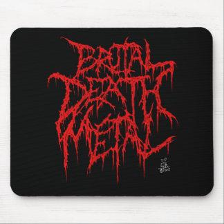 Brutal Death Metal Mouse Pad