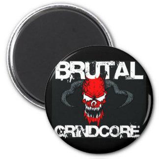 Brutal Grindcore Fridge Magnet