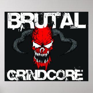 Brutal Grindcore Poster
