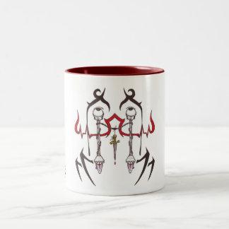 """Brutal Muse """"Beholder"""" Coffee Mug w/ inner color"""