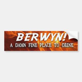 """Brutal Muse """"BERWYN"""" Bumpersticker Bumper Sticker"""