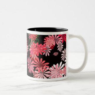 Brutal's Flowers Two-Tone Coffee Mug