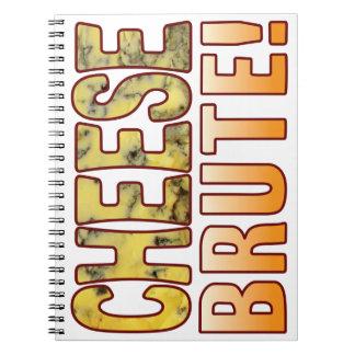 Brute Blue Cheese Spiral Notebook
