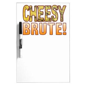 Brute Blue Cheesy Dry-Erase Board