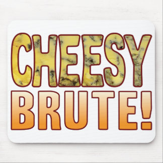 Brute Blue Cheesy Mouse Pad