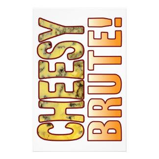 Brute Blue Cheesy Stationery