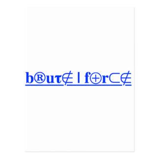 brute force postcard
