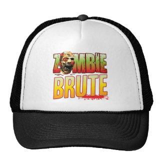 Brute Zombie Head Hats